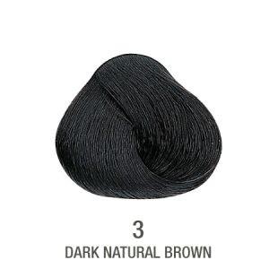 צבע לשיער ללא PPD חום כהה