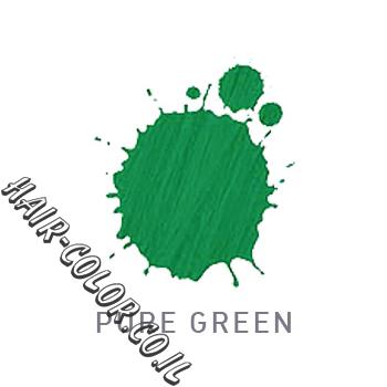 צבע לשיער ללא חמצן ירוק