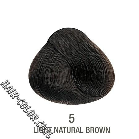 צבע לשיער ללא PPD חום בהיר