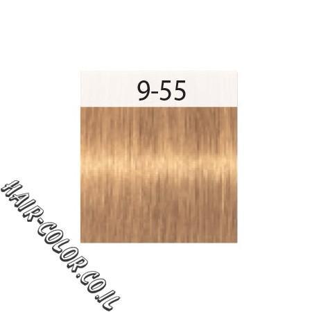 צבע לשיער בלונד פסטל זהב 9.5-55 שוורצקוף