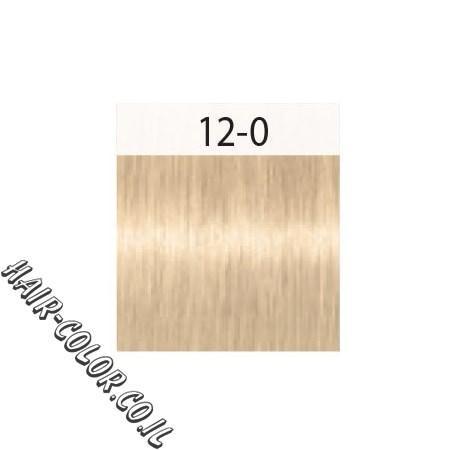 צבע לשיער בלונד פלטין 12-0 שוורצקוף