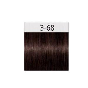 צבע לשיער חום כהה שוקולד אדום 3-68 שוורצקוף