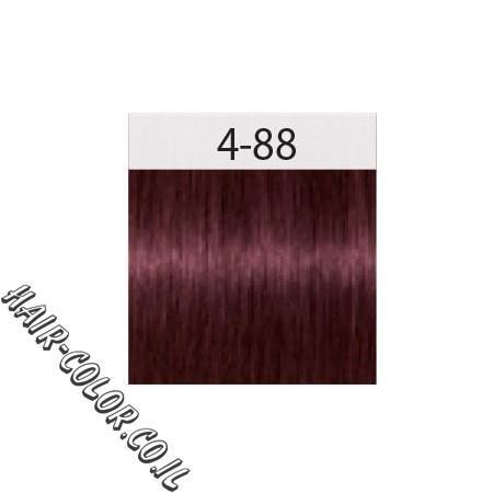 צבע לשיער חום אדום מחוזק 4-88 שוורצקוף