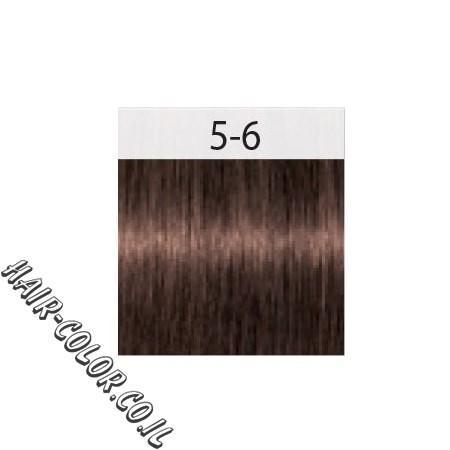 צבע לשיער חום בהיר שוקולד 5-6 שוורצקוף