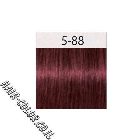 צבע לשיער חום בהיר אדום מחוזק 5-88 שוורצקוף