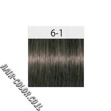 צבע לשיער בלונד כהה אפור 6-1 שוורצקוף
