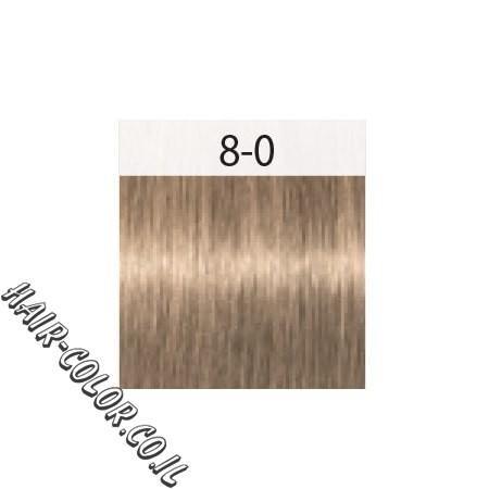 צבע לשיער בלונד כיסוי שיער לבן 8-0 שוורצקוף
