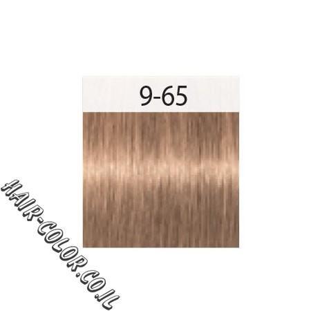 צבע לשיער בלונד בהיר שוקולד זהב 9-65 שוורצקוף
