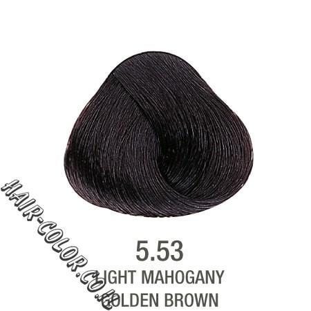 צבע לשיער ללא PPD שוקולד חום 5.53