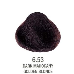 צבע לשיער ללא PPD שוקולד חום 6.53