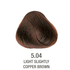 צבע לשיער ללא PPD נחושתי חום 5.04