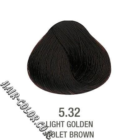 צבע לשיער ללא PPD ערמוני חום 5.32