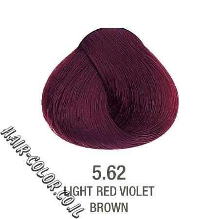 צבע לשיער ללא PPD אדום חציל 5.62