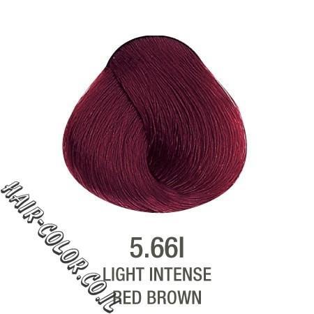 צבע לשיער ללא PPD אדום חום 5.66
