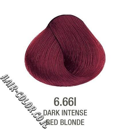 צבע לשיער ללא PPD חום אדום 6.66