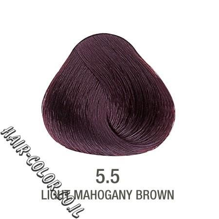 צבע לשיער ללא PPD מהגוני חום 5.5