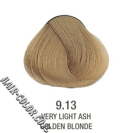 צבע לשיער ללא PPD בלונד זהב פלטין 9.13