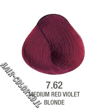 צבע לשיער ללא PPD אדום חציל 7.62