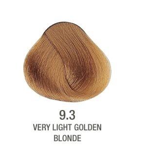 צבע לשיער ללא PPD בלונד זהב 9.3