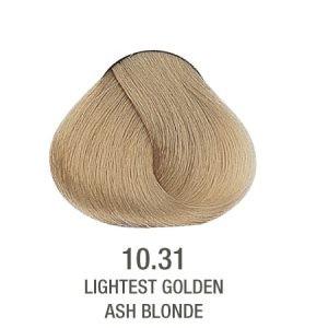 צבע ללא PPD בלונד זהב פלטין 10.31