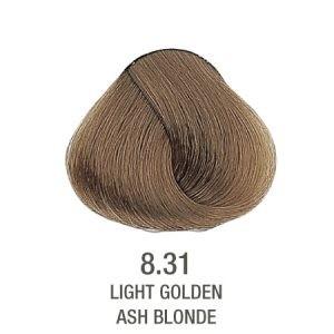 צבע לשיער ללא PPD בלונד זהב אפור 8.31