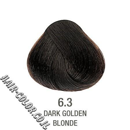צבע לשיער ללא PPD חום זהב 6.3