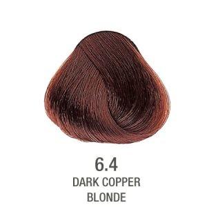 צבע לשיער ללא PPD נחושת חום 6.4