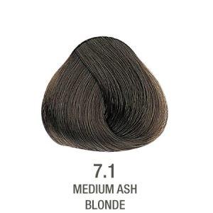 צבע לשיער ללא PPD חום אפור מנטרל צהוב 7.1