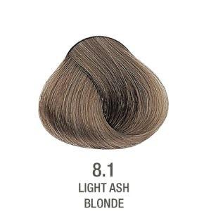 צבע לשיער ללא PPD בלונד אפור מנטרל צהוב 8.1
