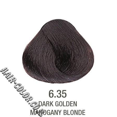 צבע לשיער ללא PPD אגוז חום 6.35